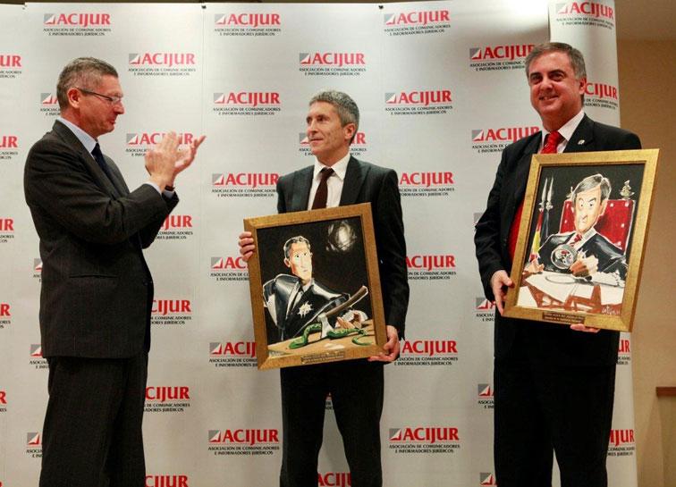 Gallardon entrega el premio a Grande-Marlaska