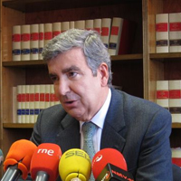 Juan Manuel Fernández, vocal de la Comisión Permanente del Consejo General del Poder Judicial (CGPJ)