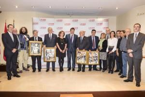 Premios Puñetas ACIJUR, foto de grupo