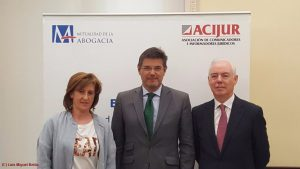 Desayuno informativo ACIJUR con ministro en funciones Rafael Catalá