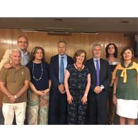 Miembros de la Junta directiva de ACIJUR