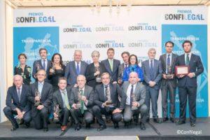 I Premios de Confilegal, galardonados