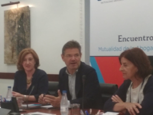 Desayuno informativo off de record con el exministro de Justicia, Rafael Catalá
