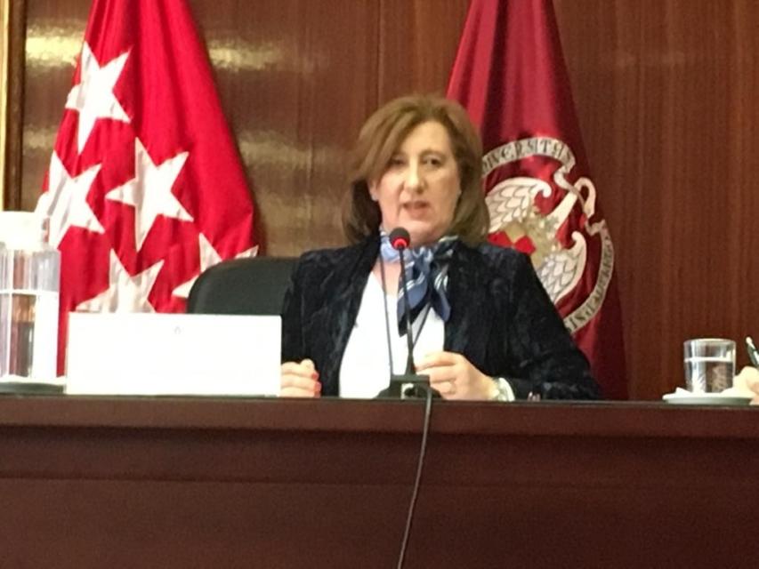 Jornadas Administración de Justicia y Libertad de Prensa. Patricia Rosety