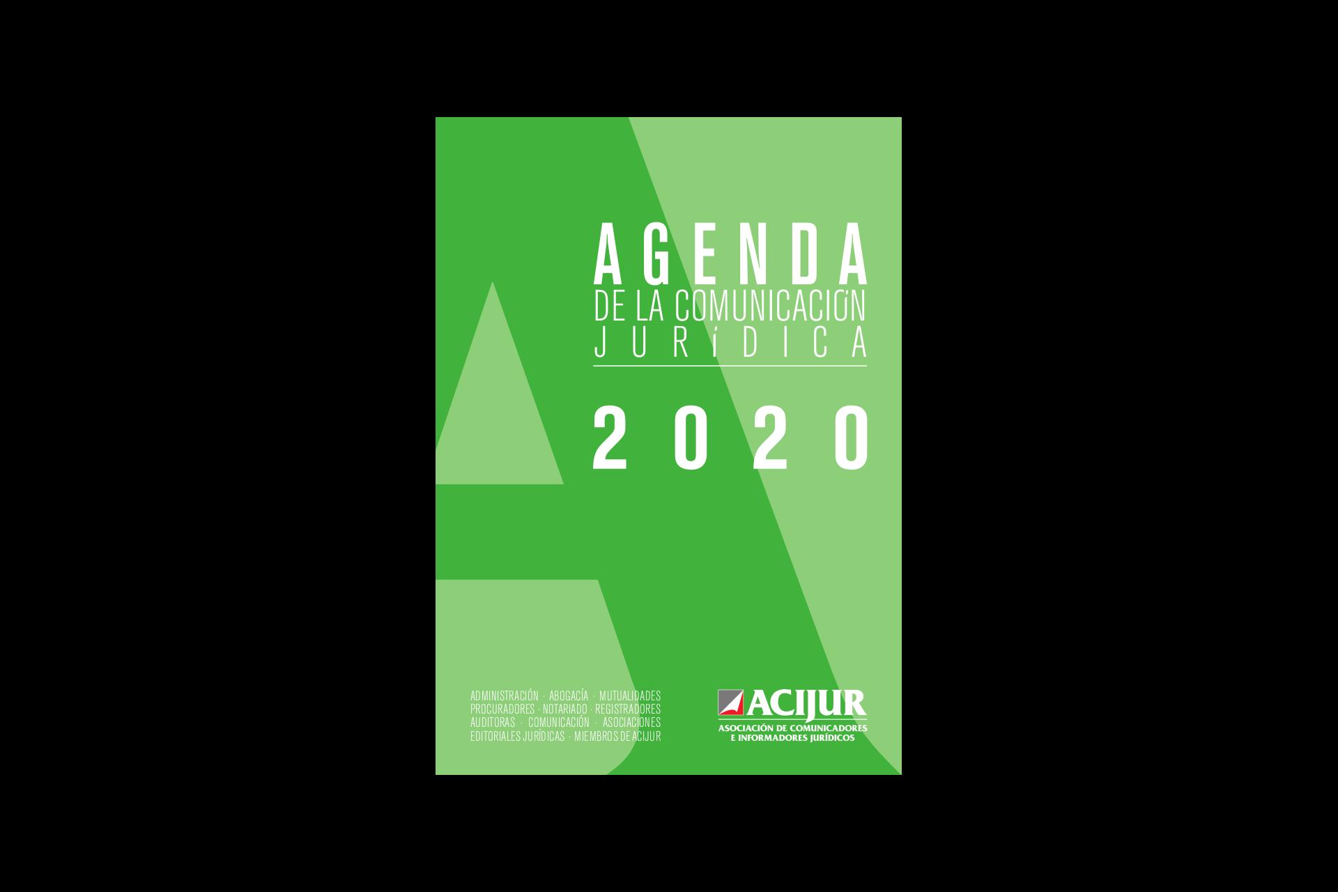 Agenda de la Comunicación Jurídica 2020 de ACIJUR
