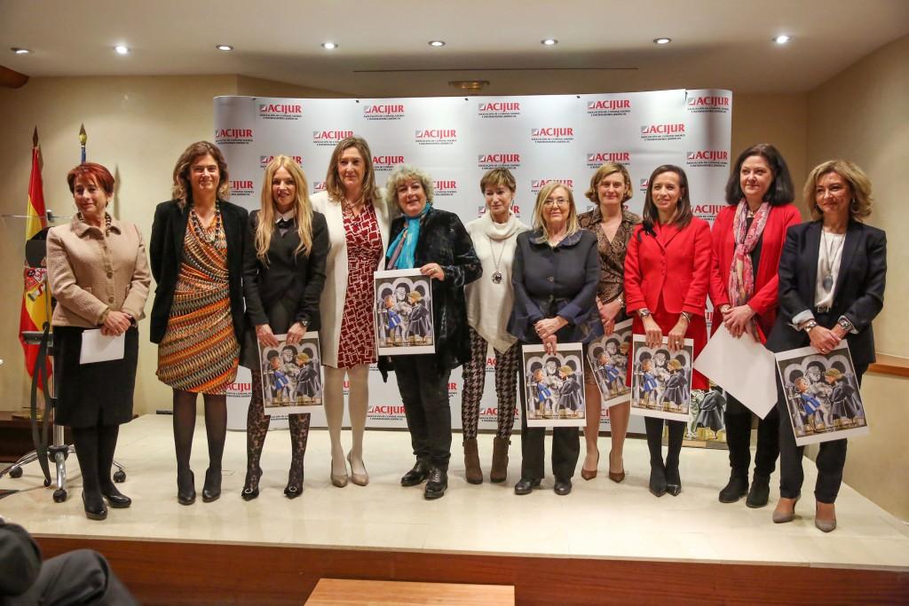 """Premio ACIJUR """"Puñetas de Oro"""" a las Mujeres en la Justicia"""