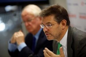 Desayuno informativo con el ministro de Justicia, Rafael Catalá (Foto cedida)