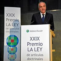 Alejandro Fernández de Araoz, ganador XXIX Premio La Ley