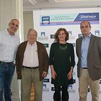 Patricia Rosety, junto con el resto de participantes del debate