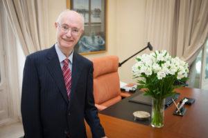 Luis de Angulo Rodríguez, presidente de Honor de la Mutualidad de la Abogacía