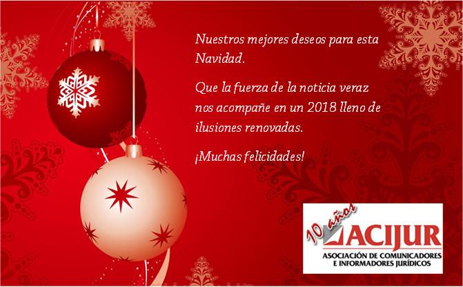 ACIJUR Felicitación Navidad