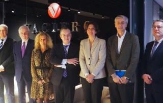 Reunión de los miembros del Jurado. Premios Vaciero