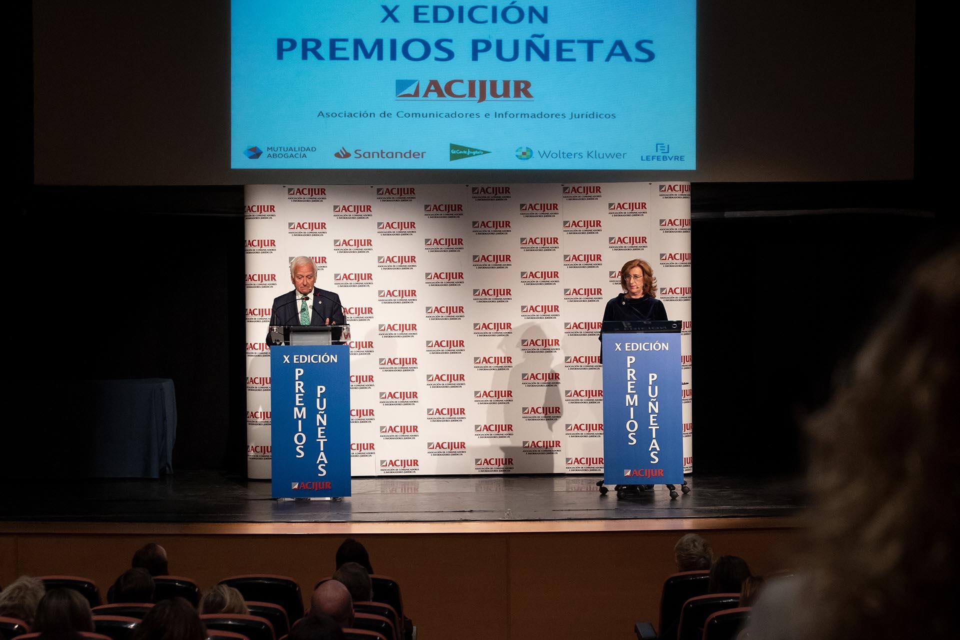 Patricia Rosety y Francisco Muro cierran el acto.